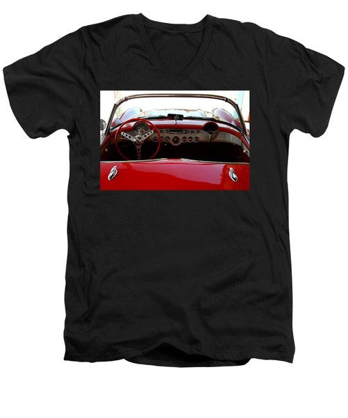 Hackberry Corvette Men's V-Neck T-Shirt