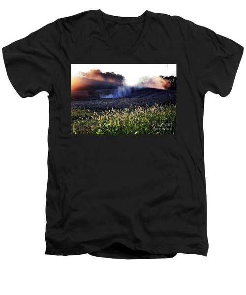 Harvesting Men's V-Neck T-Shirt