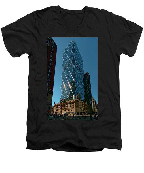 Hearst Building Men's V-Neck T-Shirt