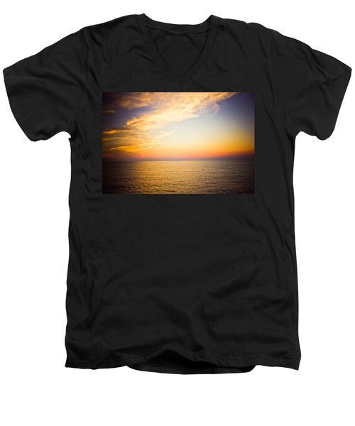Men's V-Neck T-Shirt featuring the photograph Heavenly by Sara Frank
