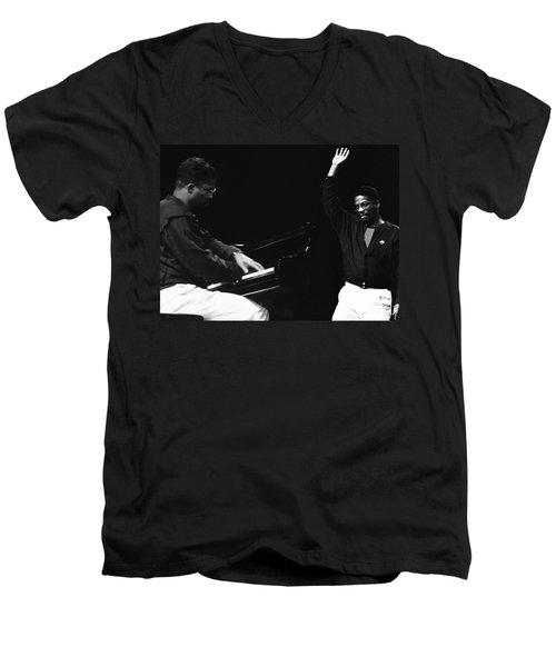 Herbie Hancock Men's V-Neck T-Shirt