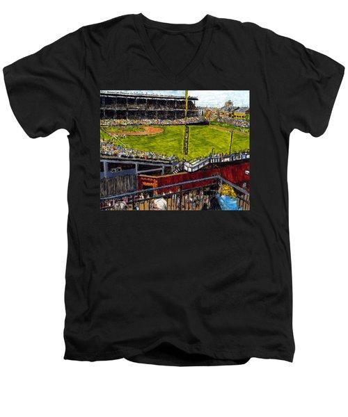 Hey Hey 353 Men's V-Neck T-Shirt