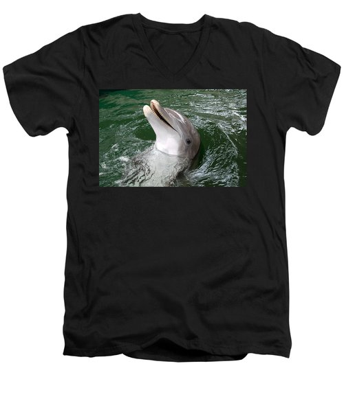Hi Men's V-Neck T-Shirt