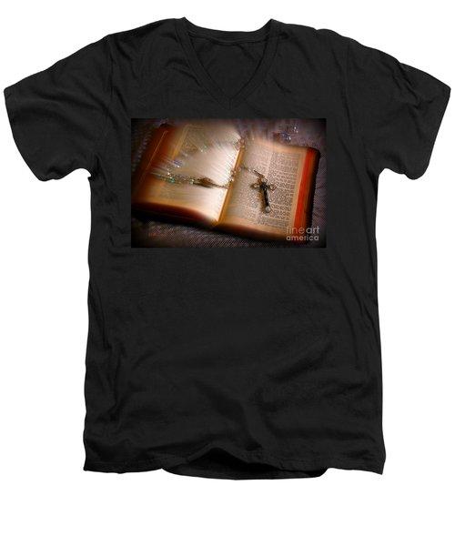 Higher Power Men's V-Neck T-Shirt