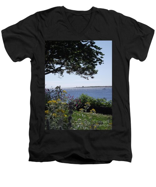 Hillside Beauty Men's V-Neck T-Shirt