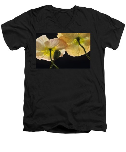 Iceland Poppies 2 Men's V-Neck T-Shirt