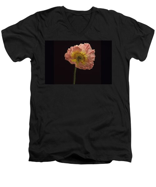 Iceland Poppy 3 Men's V-Neck T-Shirt