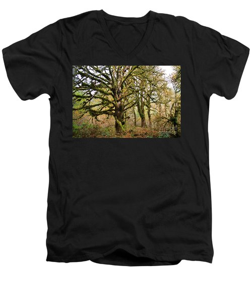 In The Rain Forest Men's V-Neck T-Shirt
