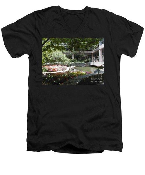 Inner Courtyard Men's V-Neck T-Shirt