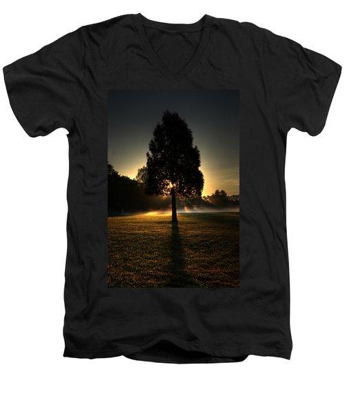 Inspirational Tree Men's V-Neck T-Shirt
