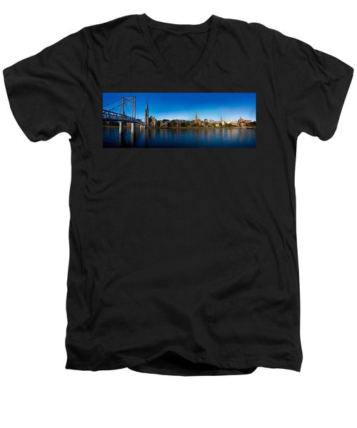 Inverness Waterfront Men's V-Neck T-Shirt