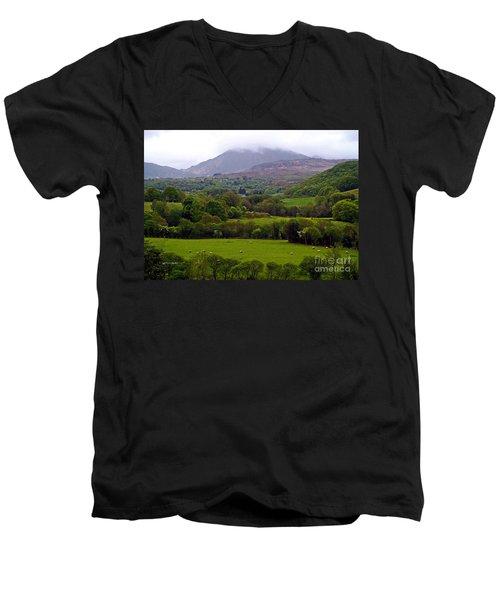 Irish Countryside II Men's V-Neck T-Shirt