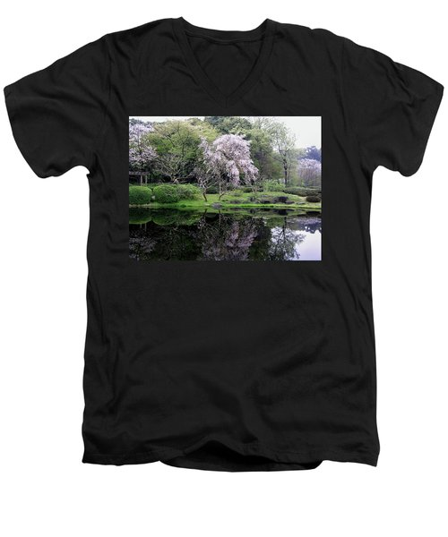Japan's Imperial Garden Men's V-Neck T-Shirt