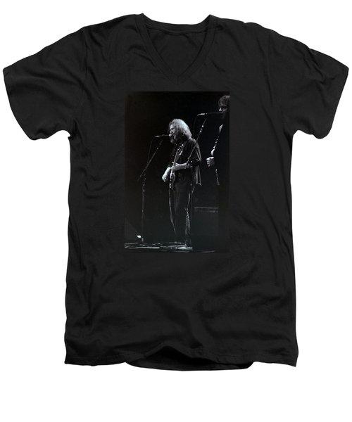 The Grateful Dead -  East Coast Men's V-Neck T-Shirt by Susan Carella