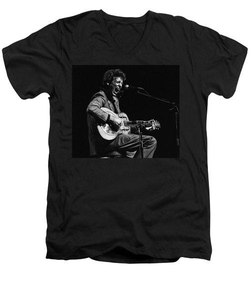 John Hammond Men's V-Neck T-Shirt