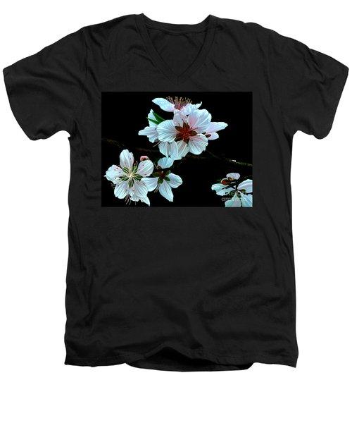 Just Peachy Men's V-Neck T-Shirt