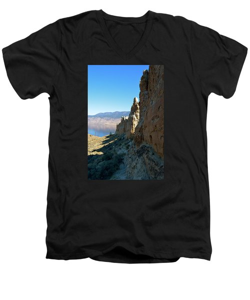 Kamloops Lake Hoo Doo's Men's V-Neck T-Shirt