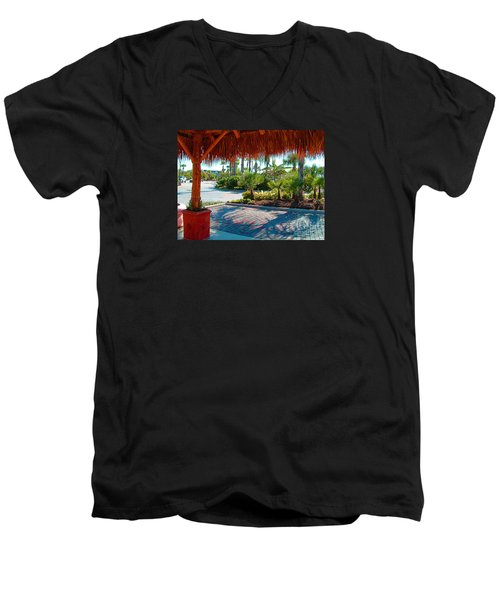 Kemah Boardwalk Men's V-Neck T-Shirt