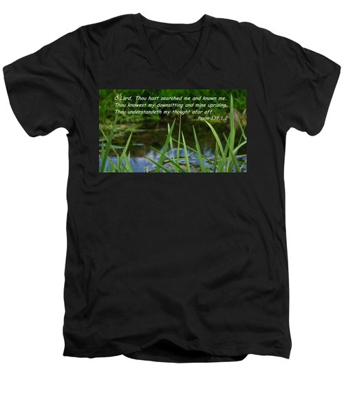 Known Through And Through Men's V-Neck T-Shirt