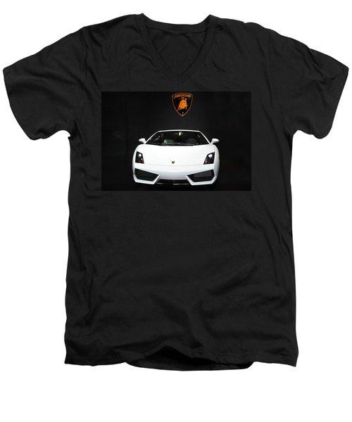 Lamborghini   Men's V-Neck T-Shirt
