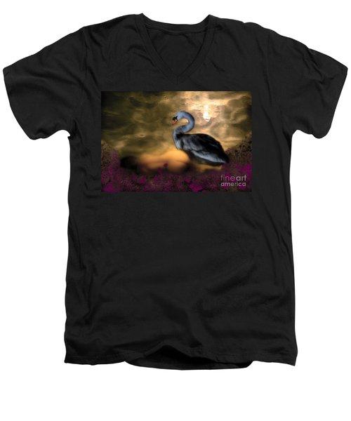 Leda And The Swan Men's V-Neck T-Shirt