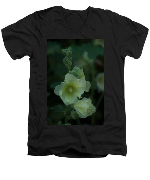 Men's V-Neck T-Shirt featuring the photograph Lime by Joseph Yarbrough