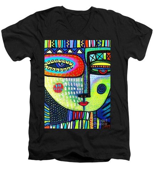 Lime Tree Goddess Men's V-Neck T-Shirt