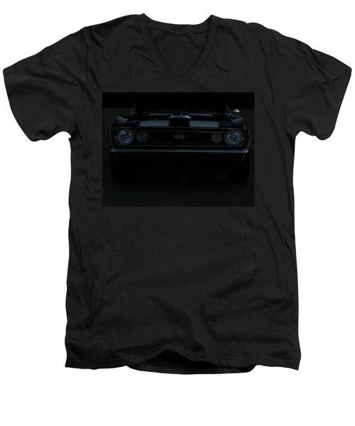 Little Black Camaro Men's V-Neck T-Shirt