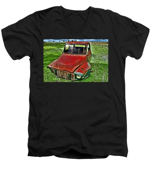 Long Term Parking Men's V-Neck T-Shirt