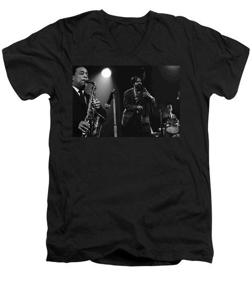 Lou Donaldson Men's V-Neck T-Shirt