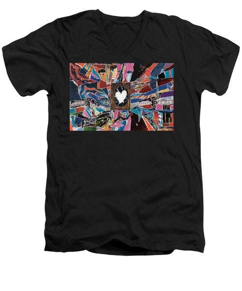 Love Always Pure Men's V-Neck T-Shirt