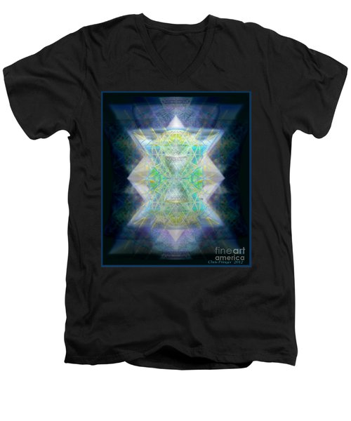 Love's Chalice From The Druid Tree Of Life Men's V-Neck T-Shirt