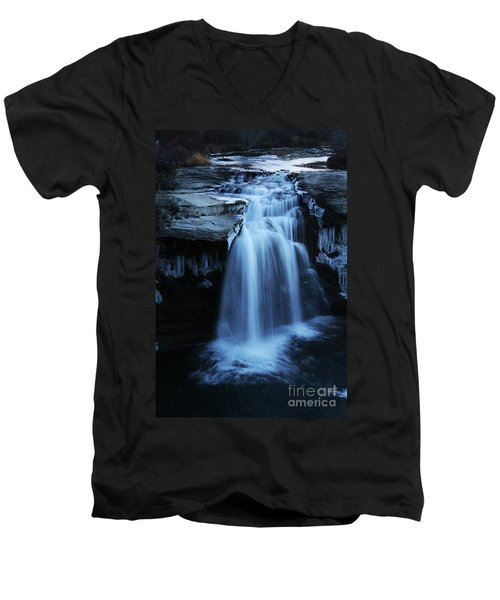Lundbreck Falls Men's V-Neck T-Shirt
