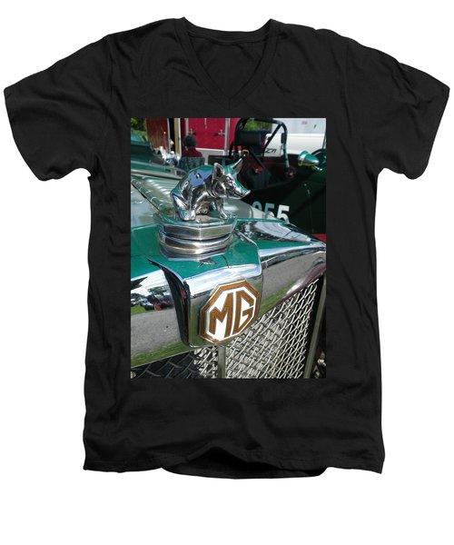 M G Hood 2 Men's V-Neck T-Shirt