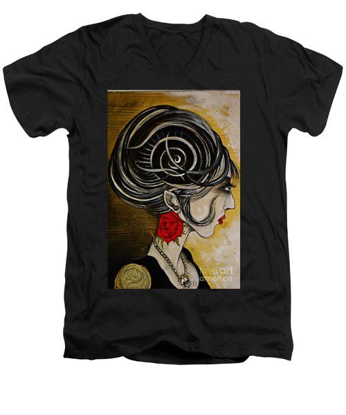 Madame D. Eternal's Dance Men's V-Neck T-Shirt