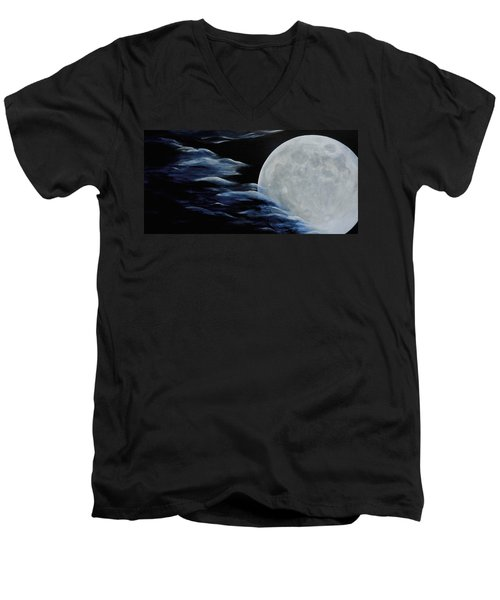 Magica Luna Men's V-Neck T-Shirt