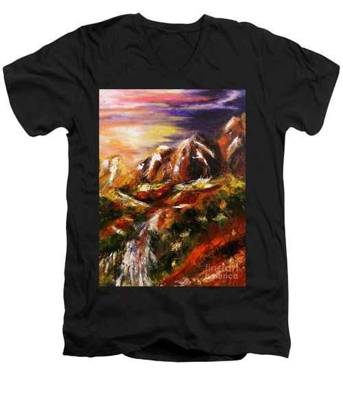 Magical Morn Men's V-Neck T-Shirt