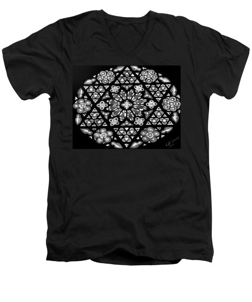 Mandala Of Hope Phase 1 Men's V-Neck T-Shirt