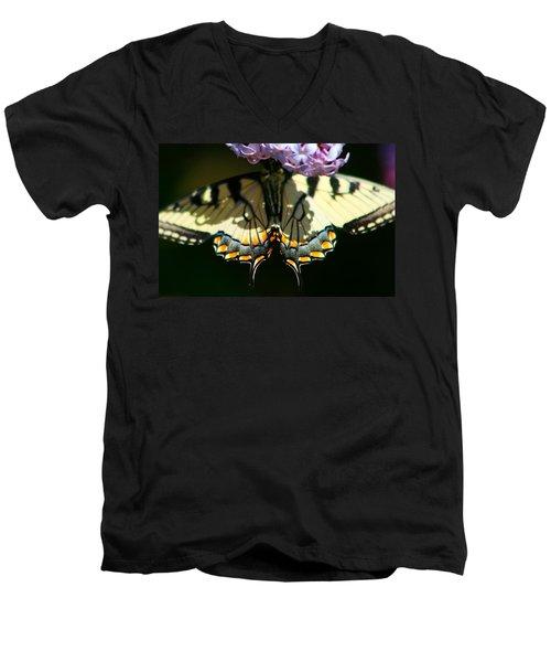 Masked Monarch Men's V-Neck T-Shirt