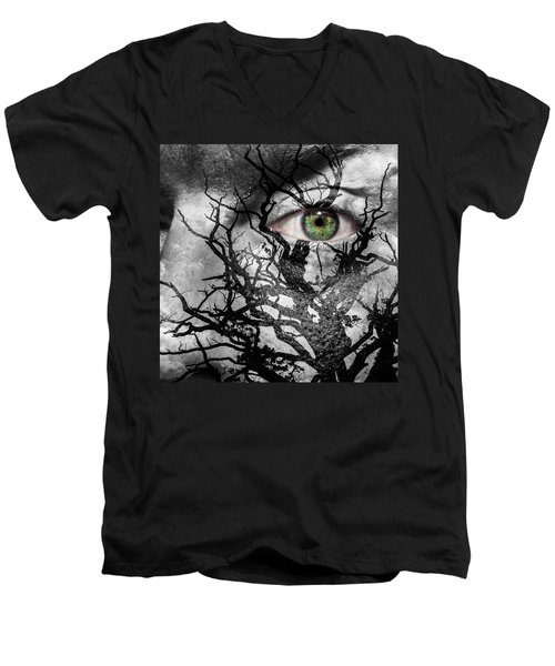 Medusa Tree Men's V-Neck T-Shirt