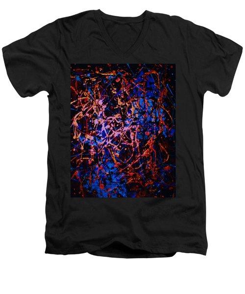 Midnight Men's V-Neck T-Shirt