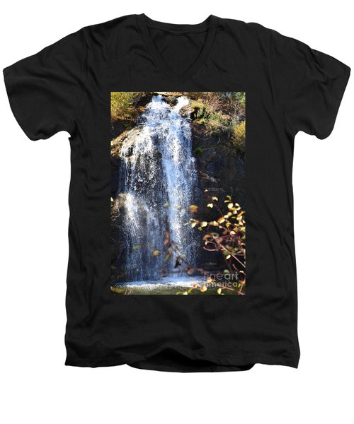 Mirabeau Falls Men's V-Neck T-Shirt
