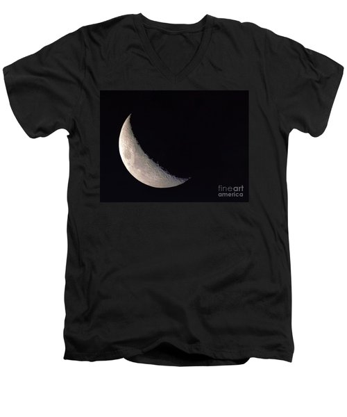 Moon Shadow Men's V-Neck T-Shirt