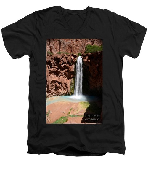 Mooney Falls Men's V-Neck T-Shirt