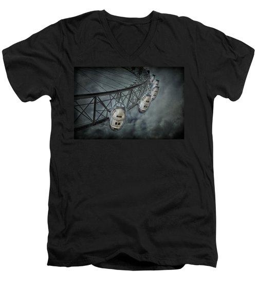 More Then Meets The Eye Men's V-Neck T-Shirt by Evelina Kremsdorf