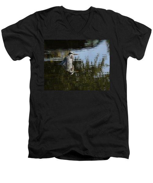 Morning Bath Men's V-Neck T-Shirt