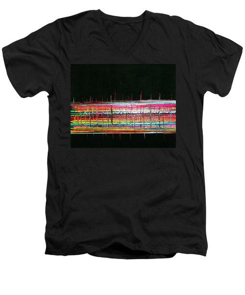 Muzak Men's V-Neck T-Shirt