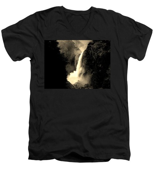 Mystery Falls Men's V-Neck T-Shirt