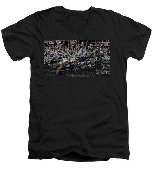 New Millennium Men's V-Neck T-Shirt