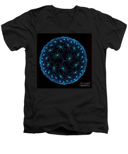 Night Spiders Men's V-Neck T-Shirt by Danuta Bennett